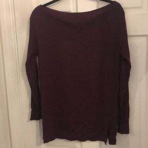 Burgundy Trouve sweater! Lightly worn